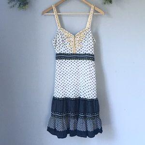 FP beaded embroidered Midi Dress